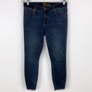 Kut From the Kloth Slim Ankle Jeans With Fram Hem